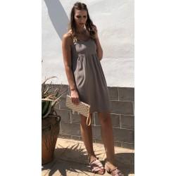 Vestido Margot Taupe