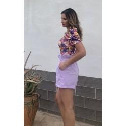 Short Magnolia Lila