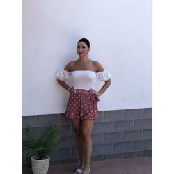 Falda/pantalón  Coria Rosa