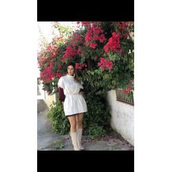 Vestido Blousse Granate
