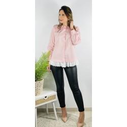 Camisa Nadine Rosa