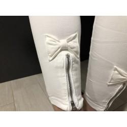 Jeans Blanco Lazo