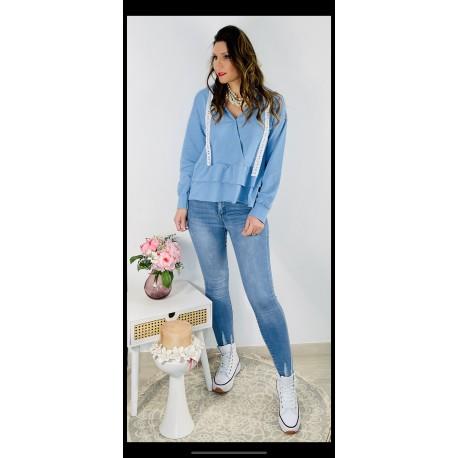 Jeans Desgastado Claro