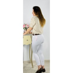 Jeans Basic Blancos