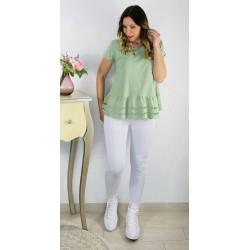 Camiseta Adela Verde