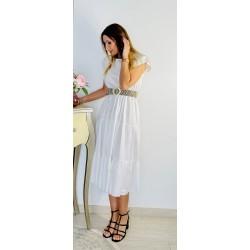 Vestido Adriana Blanco