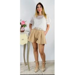 Top Crochet Blanco