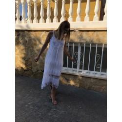 Vestido Veracruz Blanco Coqueta Chic